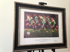 Huddersfield Town - We Are Premier League - framed A3 Print